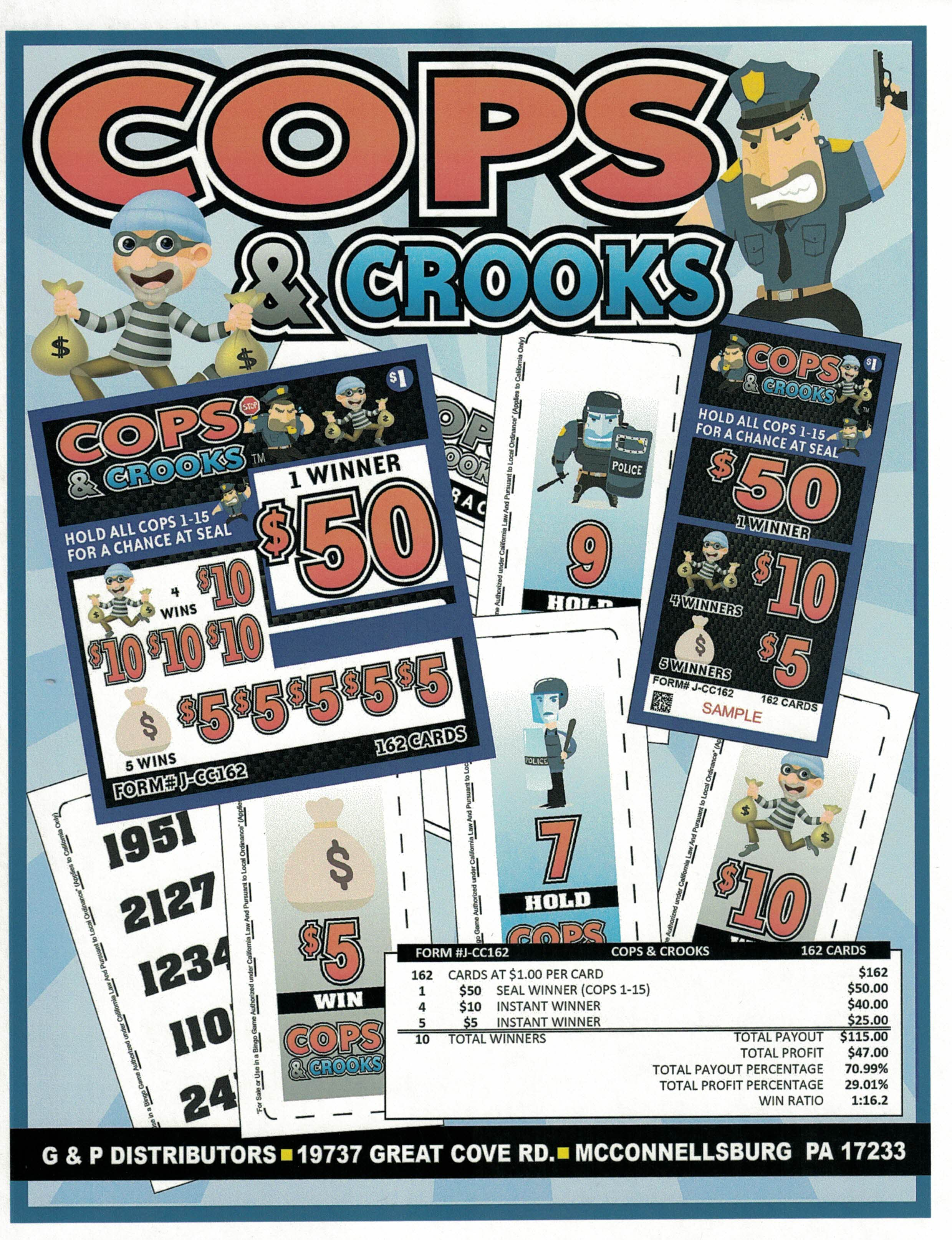 COPS & CROOKS Image