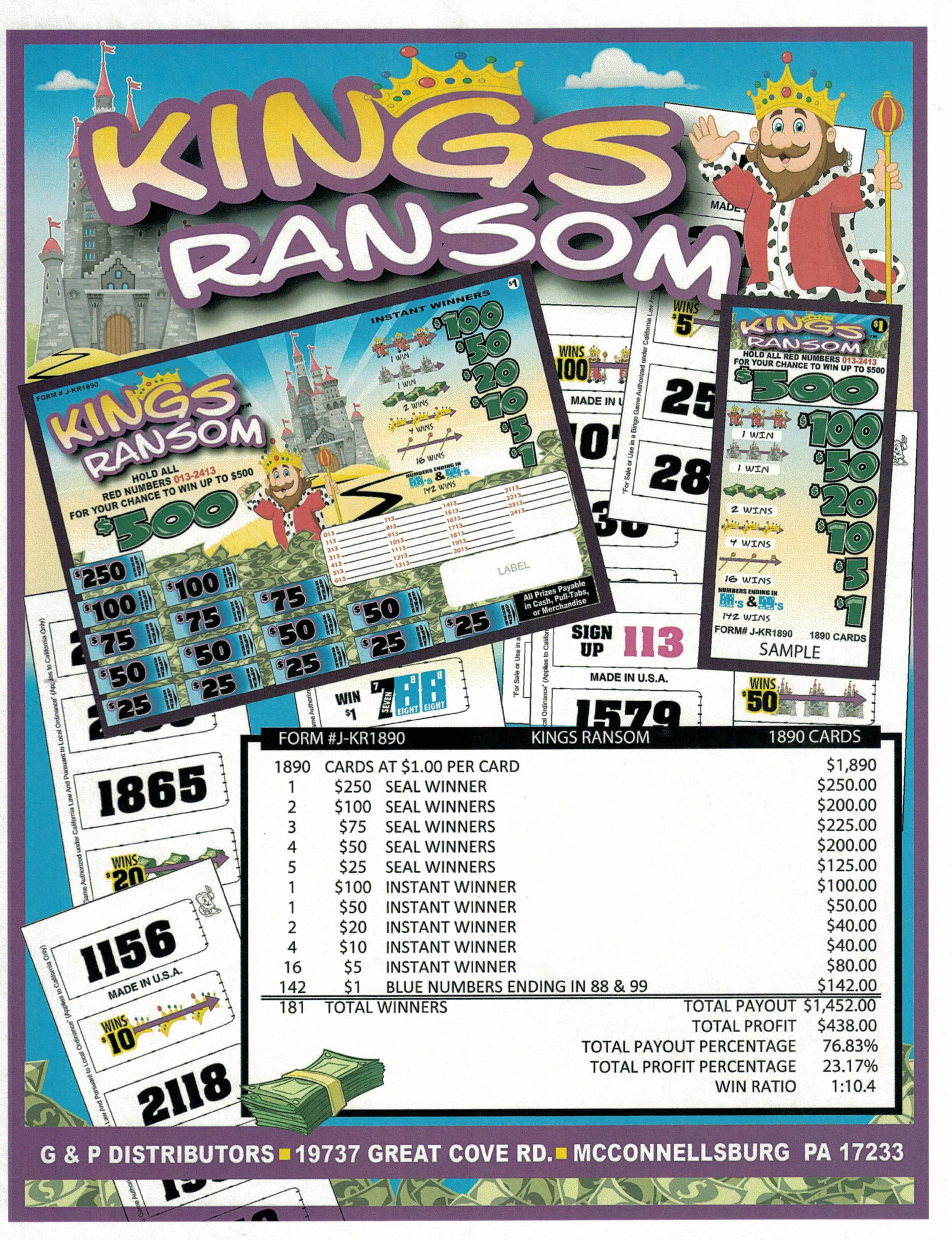 KINGS RANSOM Image
